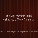 Silent Night by DigiEnsemble Berlin 0951